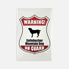 Entlebucher On Guard Rectangle Magnet