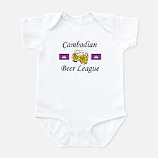 Cambodian Beer League Infant Bodysuit