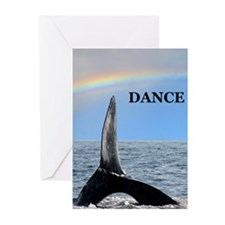 WHALE DANCE Greeting Cards (Pk of 20)
