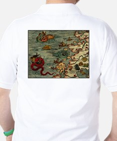 """Ancient Norway Map"" T-Shirt"