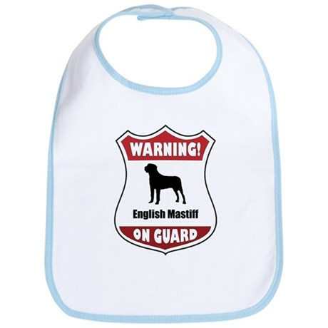 Mastiff On Guard Bib