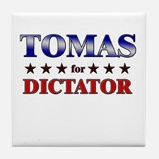 TOMAS for dictator Tile Coaster