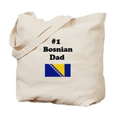 #1 Bosnian Dad Tote Bag