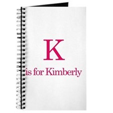 K is for Kimberly Journal