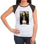 Mona/ English Springer Women's Cap Sleeve T-Shirt
