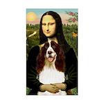 Mona/ English Springer Sticker (Rectangle)