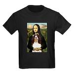 Mona/ English Springer Kids Dark T-Shirt