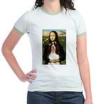 Mona/ English Springer Jr. Ringer T-Shirt
