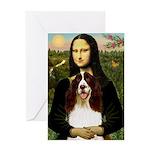 Mona/ English Springer Greeting Card