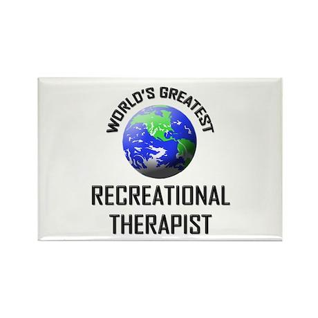 World's Greatest RECREATIONAL THERAPIST Rectangle