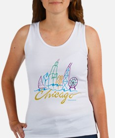 Chicago EMB-1.png Tank Top