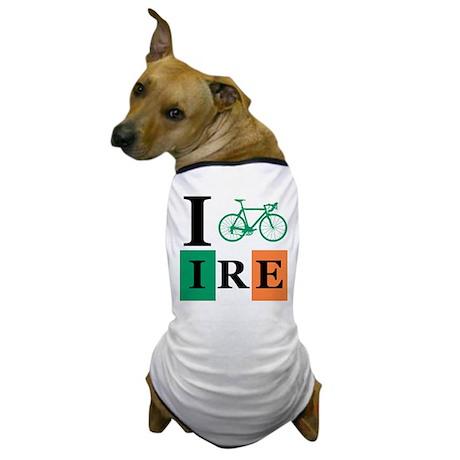 I Bike Ireland Dog T-Shirt