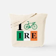 I Bike Ireland Tote Bag