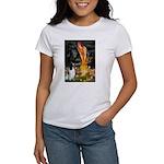 MidEve-EnglishSpringer7 Women's T-Shirt
