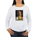 MidEve-EnglishSpringer Women's Long Sleeve T-Shirt