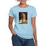 MidEve-EnglishSpringer7 Women's Light T-Shirt