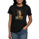 MidEve-EnglishSpringer7 Women's Dark T-Shirt