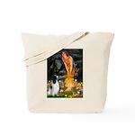 MidEve-EnglishSpringer7 Tote Bag