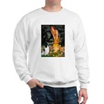 MidEve-EnglishSpringer7 Sweatshirt