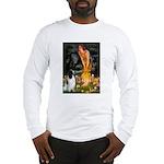 MidEve-EnglishSpringer7 Long Sleeve T-Shirt