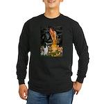 MidEve-EnglishSpringer7 Long Sleeve Dark T-Shirt