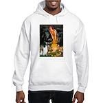 MidEve-EnglishSpringer7 Hooded Sweatshirt