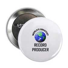 """World's Greatest RECORD PRODUCER 2.25"""" Button"""