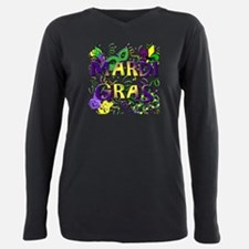 Unique Images of fleur de lis Plus Size Long Sleeve Tee