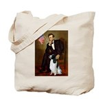 Lincoln / Eng Springer Tote Bag