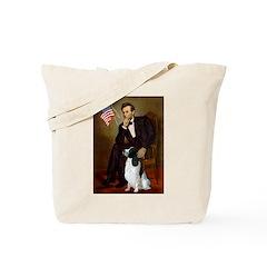 Lincoln / Eng Springer Tote Bag