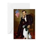 Lincoln / Eng Springer Greeting Cards (Pk of 10)
