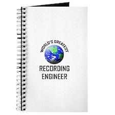 World's Greatest RECORDING ENGINEER Journal