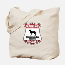 Chessie On Guard Tote Bag