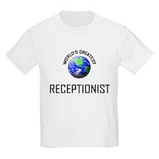 World's Greatest RECEPTIONIST T-Shirt