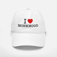 I Love MONKHOOD Baseball Baseball Cap