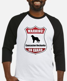 Caucasian On Guard Baseball Jersey