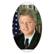 President Clinton Oval Decal