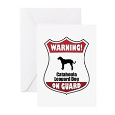 Catahoula On Guard Greeting Cards (Pk of 10)
