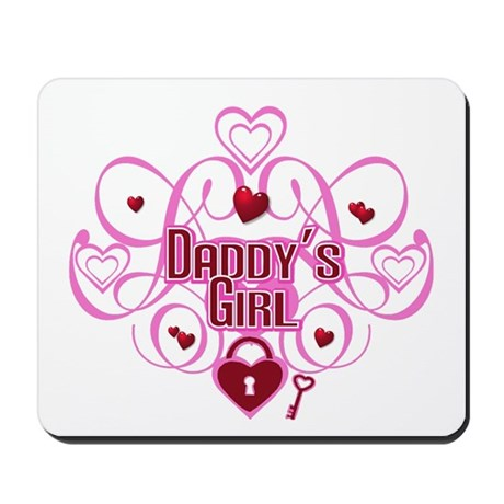 Pink - Daddy's Girl Mousepad