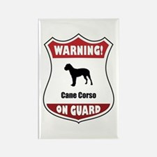 Corso On Guard Rectangle Magnet