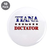 """TIANA for dictator 3.5"""" Button (10 pack)"""