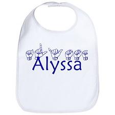 Alyssa -bl Bib