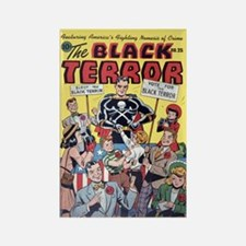 $4.99 Vote for Terror--Black Terror Magnet