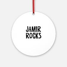 Jamir Rocks Ornament (Round)