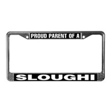 Proud Parent of a Sloughi License Plate Frame