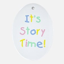 It's Story Time! Ornament (Oval)