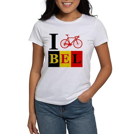 I Bike Belgium Women's T-Shirt