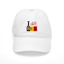 I Bike Belgium Baseball Cap