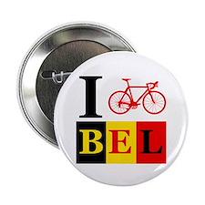 "I Bike Belgium 2.25"" Button"