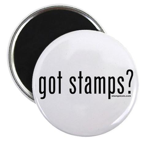 """Got Stamps? 2.25"""" Magnet (10 pack)"""